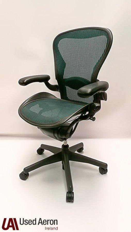 Herman Miller Aeron Chair Size B Used Herman Miller